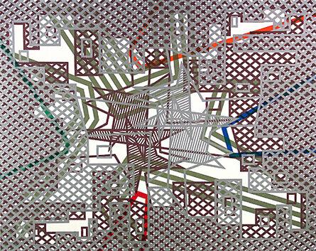 Bernard Cohen, 'About Now I', 2006