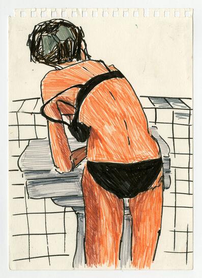 Clara Claus, 'drawing 1', 2012