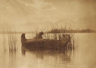 Edward S. Curtis, 'The Rush Gatherer - Kutenai', 1907-1930