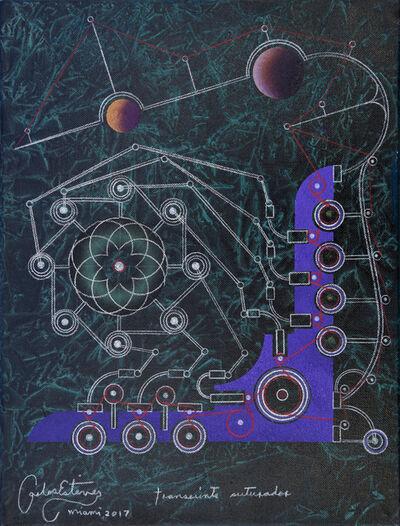 Carlos Estévez, 'Transeúnte suturador [Stitching Transient]', 2016