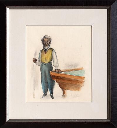 Charles Alston, 'Pool Player', ca. 1930
