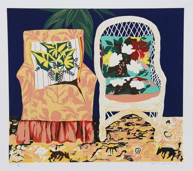 Hunt Slonem, 'Chair Duet', 1981