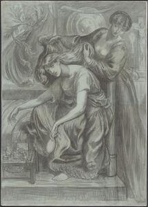 Dante Gabriel Rossetti, 'Desdemona's Death-Song', 1875/1880