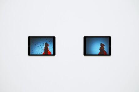 Massimo Grimaldi, 'Venezia, Images Shown on Two Apple iPad Air 2s', 2014