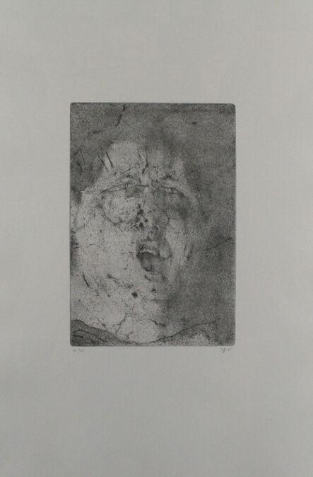 Horst Janssen, 'Selbst, dramatisch', 1965