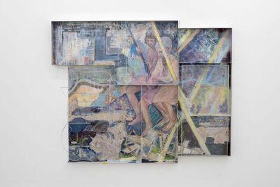 Sara Barker, 'Down their carved names the rain drop Ploughs', 2017