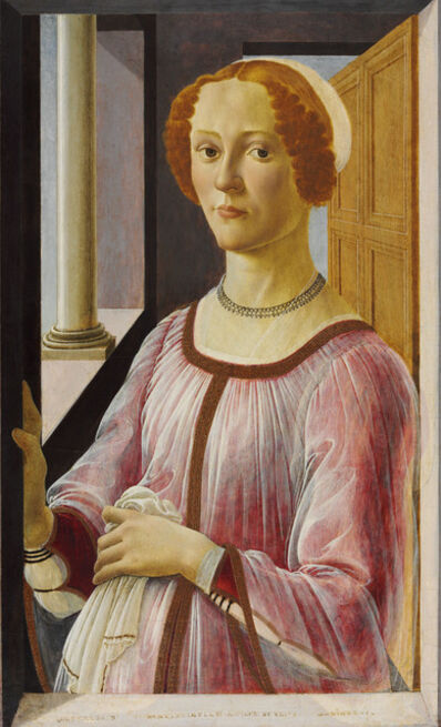 Sandro Botticelli, 'Portrait of a Lady known as Smeralda Bandinelli', 1470-1475
