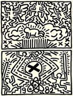 Keith Haring, 'Nuclear Disarmament', 1982