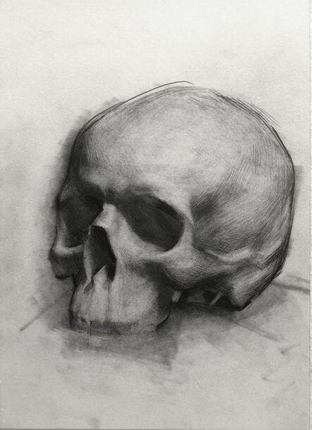 Evan Kitson, 'Skull Study', 2018
