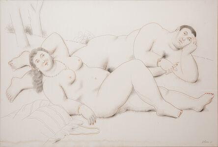 Fernando Botero, 'Lovers ', 2010
