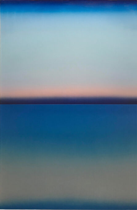 Casper Brindle, 'Blue Level', 2018