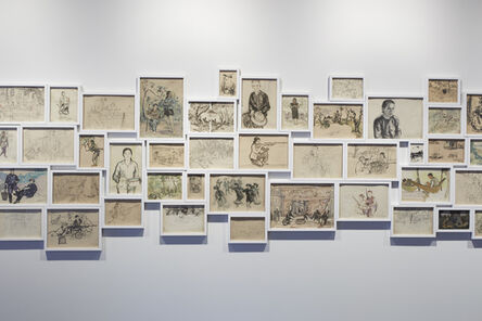 Dinh Q. Lê, 'Light and Belief: Sketches of Life from the Vietnam War', 2012