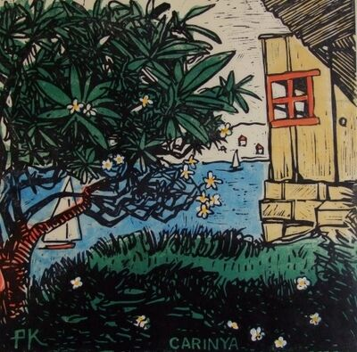Peter Kingston, 'Frangipani house Mackerel Beach', 2010