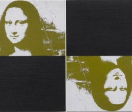 Frank Gerritz, 'Two Gold Mona Lisas', 2009
