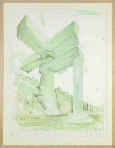 Claes Oldenburg, 'Lake Union, Seattle, Washington', 1972