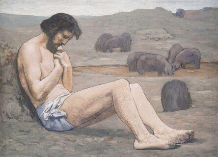 Pierre Puvis de Chavannes, 'The Prodigal Son', ca. 1879
