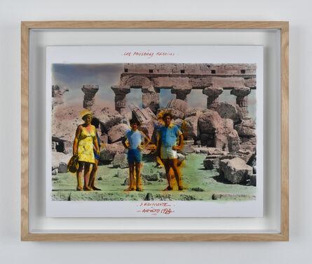 Anne and Patrick Poirier, 'Série Les Paysages Révolus, Selinunte, Agosto  ', 1973