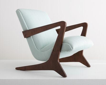 José Zanine Caldas, 'Upholstered arm chair', 1949