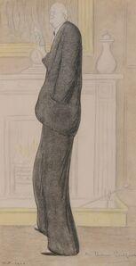 Max Beerbohm, 'Arthur James Balfour, 1st Earl of Balfour', 1920