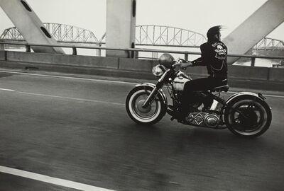 Danny Lyon, ''Crossing the Ohio River' (Louisville)'