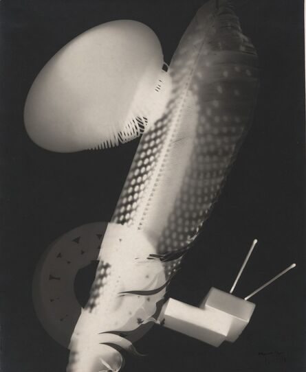 Man Ray, 'Feather and Matchboxes', 1923