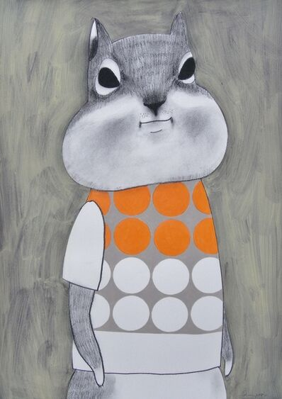 Katsunori Miyagi, 'Dots Squirrel'