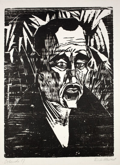 Erich Heckel, 'Ein Matrose', 1917