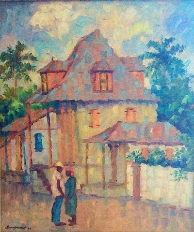 Eric Girault, 'Rue Lakou Mariage', 1993