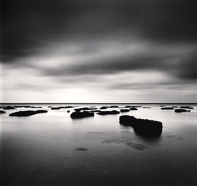 Michael Kenna, 'Rocks on Water, Shinri Hama, Okinawa, Japan', 2002
