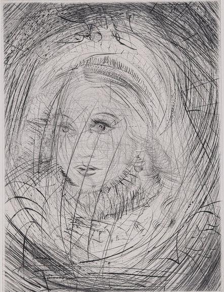 Salvador Dalí, 'Faust : Marguerite, 1969 - Original etching', 1969