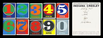 Robert Indiana, 'Numbers: Portfolio of 10 Color Silkscreens. Hand Signed, Dated and Inscribed (Sheehan 46-55)', 1968