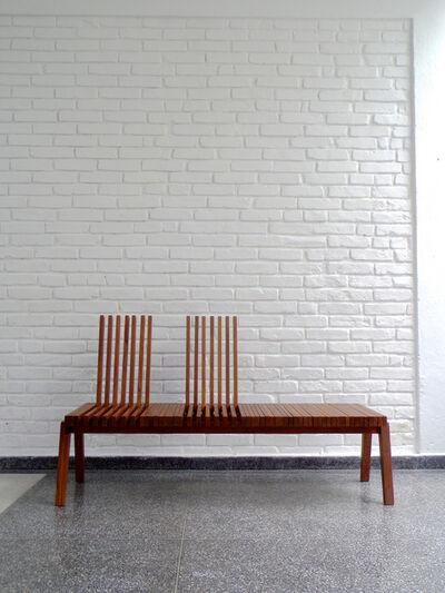 Felipe Protti, 'SITTABLE bench', 2011