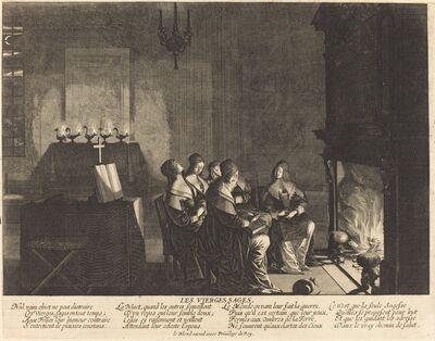 Abraham Bosse, 'Les Vierges sages, Nul vain objet...'
