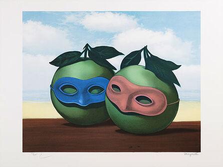 René Magritte, 'La Valse Hésitation', 2010
