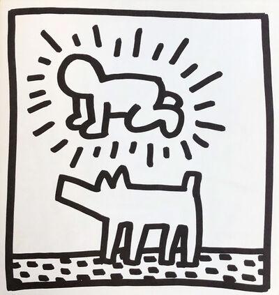 Keith Haring, 'Keith Haring (untitled) Radiant Baby lithograph 1982 (Tony Shafrazi)', 1982
