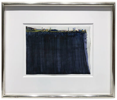 Wayne Thiebaud, 'Flat Ridge', 1967