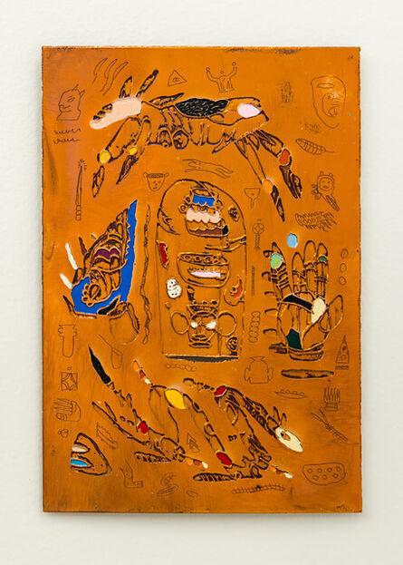 Matías Armendaris, 'Scroll mirror III', 2017