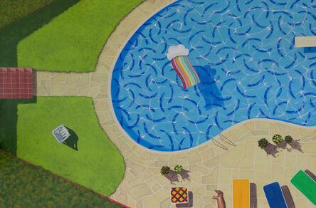 Esteban Ocampo Giraldo, 'La Piscina de Hockney (Hockney's Pool)', 2020
