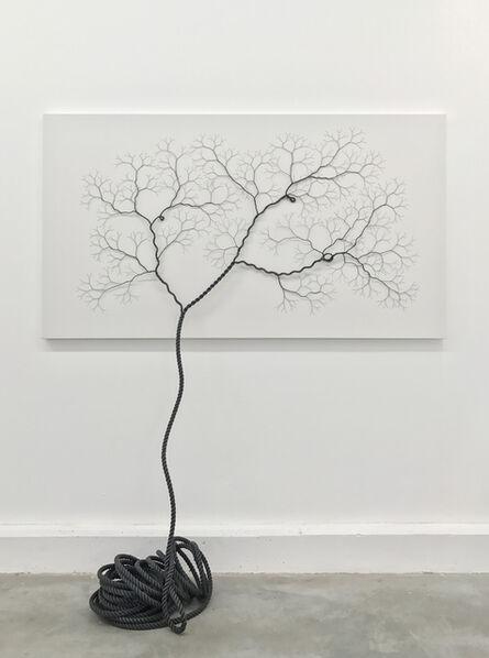 Janaina Mello Landini, 'Ciclotrama 84 (impregnation)', 2017