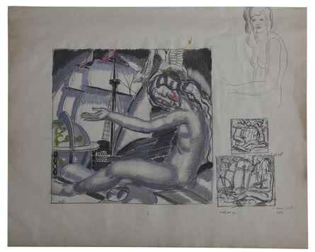 Jean Dupas, 'An Allegory of Navigation.', 1928