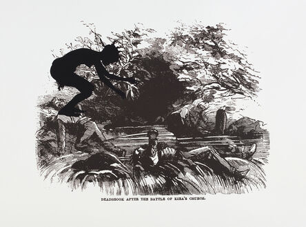 Kara Walker, 'Deadbrook After the Battle of Ezra's Church, from Harper's Pictorial History of the Civil War (Annotated)', 2005