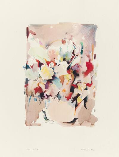 Richard Hamilton, 'Flower piece A', 1974