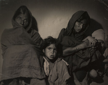 Sunil Janah, 'Mysore Famine Victims', 1940-1960
