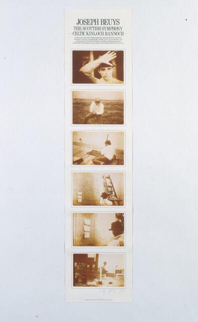Joseph Beuys, 'The Scottish Symphony-Celtic Kinlock Rannock', 1980