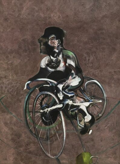 Francis Bacon, 'Portrait of Georges Dyer Riding a Bicycle 1966', 1966