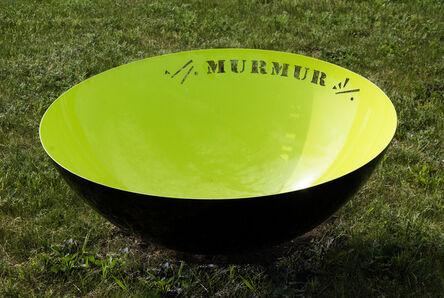 Marlene Hilton Moore, 'Murmur - bright, dynamic, narrative, painted stainless steel outdoor sculpture', 2020