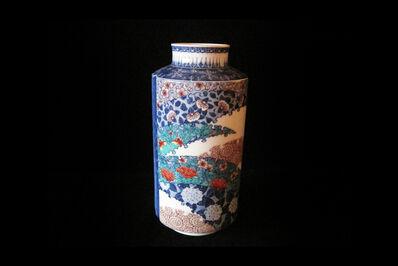 Imaizumi Imaemon XIV, 'Vase with Flower Patterns', 2014