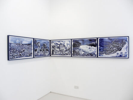 Sun Xun 孫遜, 'Magician Party and Dead Crow - Subtitle', 2013
