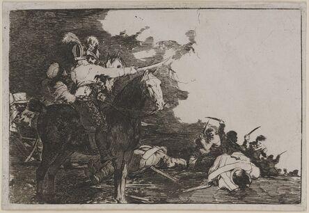 Francisco de Goya, 'They do not agree (No se convienen)', 1811-1813