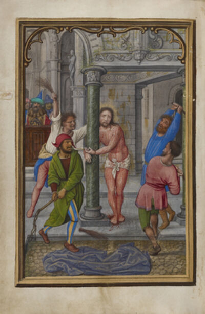 Simon Bening, 'The Flagellation', 1525-1530